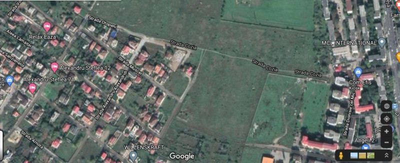 Teren situat in zona KAMSAS