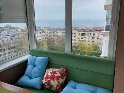 apartament situat in zona FALEZA NORD, in bloc nou, cu vedere la mare,